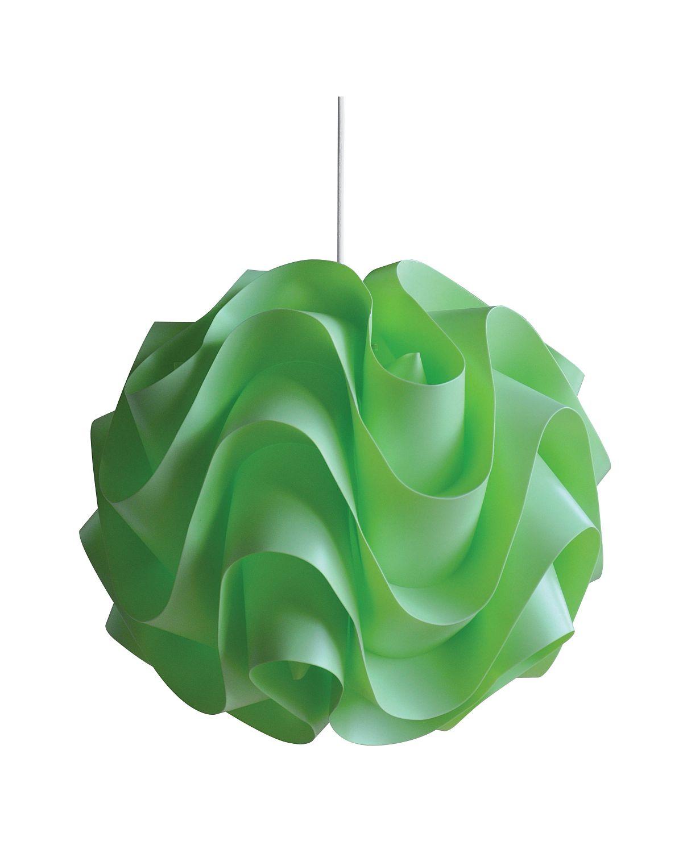Plastový lustr Senti W-3022 zelená