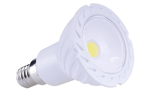LED žárovka E14 JDR COB