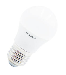 LED žárovka Sandy LED E27 B45 S1031 7W 3000K